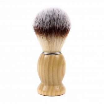 Wooden Vegan Shaving Brush