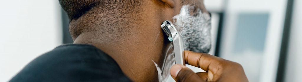 Dispose of razor blades